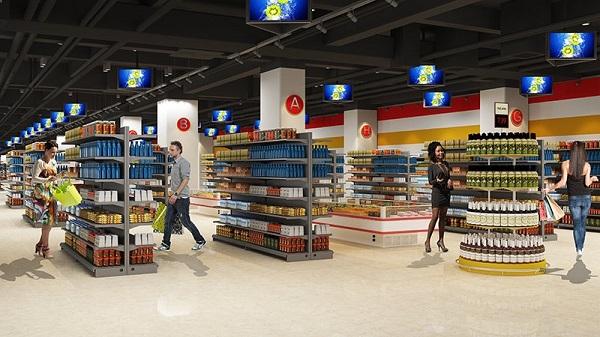 tiện ích siêu thị