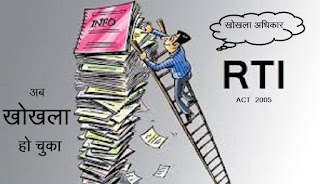 RTI ACT 2005 IS ABOUT TO DIE