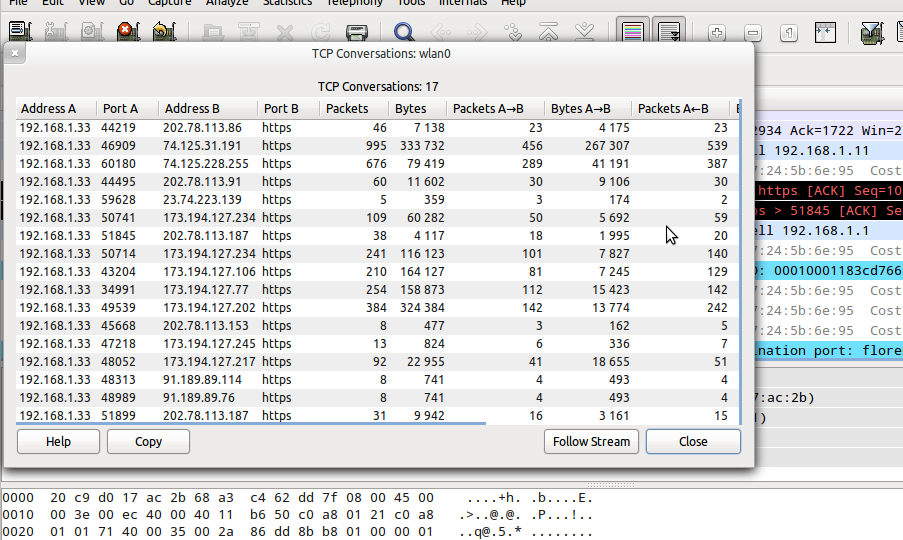 Meep Musings: How to capture json-rpc traffic using wireshark