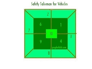 Indian Paranormal Safety Talisman for Vehicles