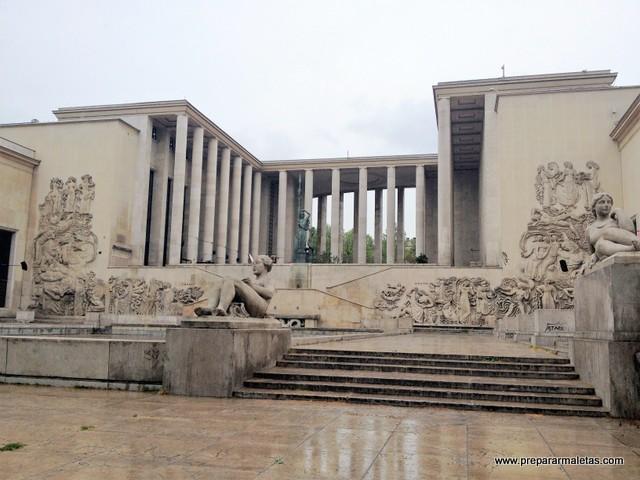 Palais de Tokyo, centro de arte moderno en París