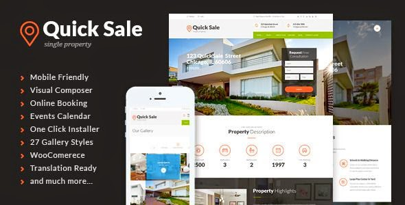 Property Agents Real Estate WordPress Theme