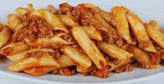 Pasta with Ground Beef (Kiymali Makarna)