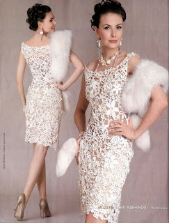Vestidos de crochet mujer patrones