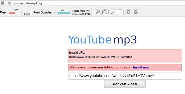 Heres how to download mp3 from youtube it turned out that easy for the record youtube mp3 site has one weakness that can not download a mp3 of videos longer than 20 minutes when you try to download videos longer than ccuart