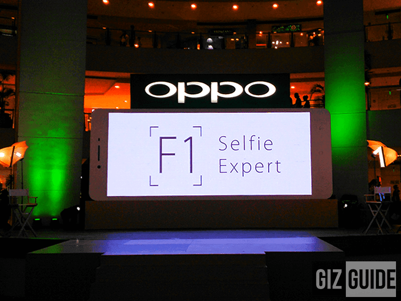 Oppo F1 PH launch