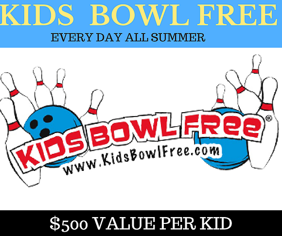 Kids Freebie - Kids Bowl FREE All Summer