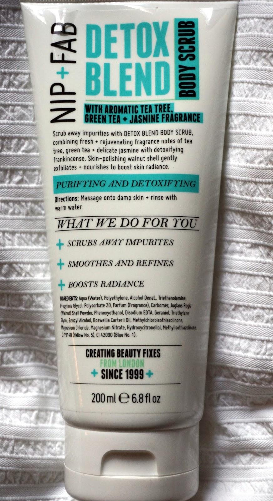 Nip + Fab Detox Blend Body Scrub
