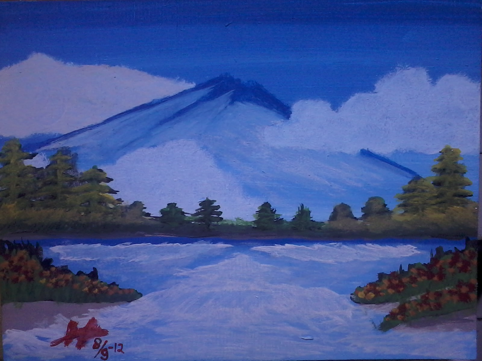 Sma Negeri 3 Kuningan Lukisan Pemandangan Hilman Heriyanto