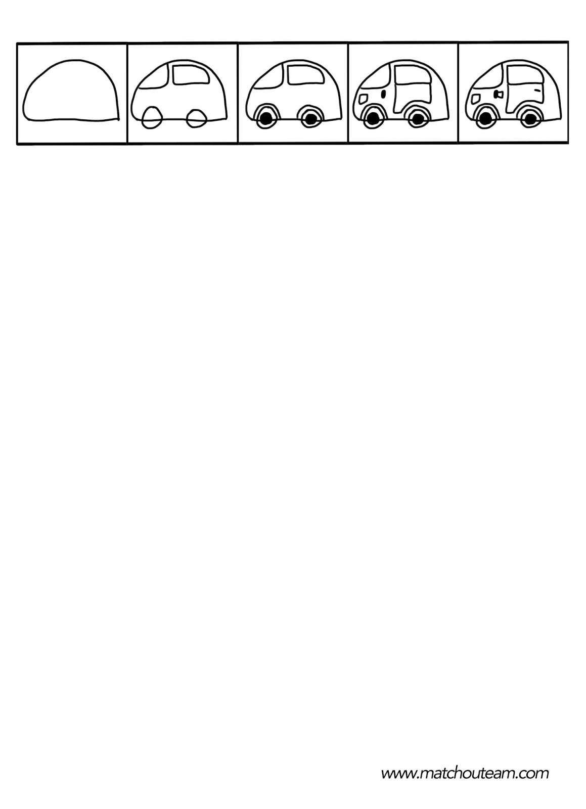 dessin dirigé d'une voiture