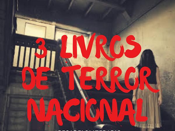 3 livros de terror nacionais que você precisa ler neste Halloween! #Pesadeloliterario2018