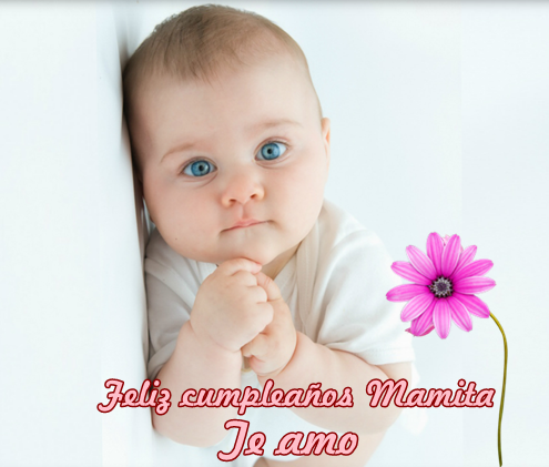 tarjeta feliz cumple mama