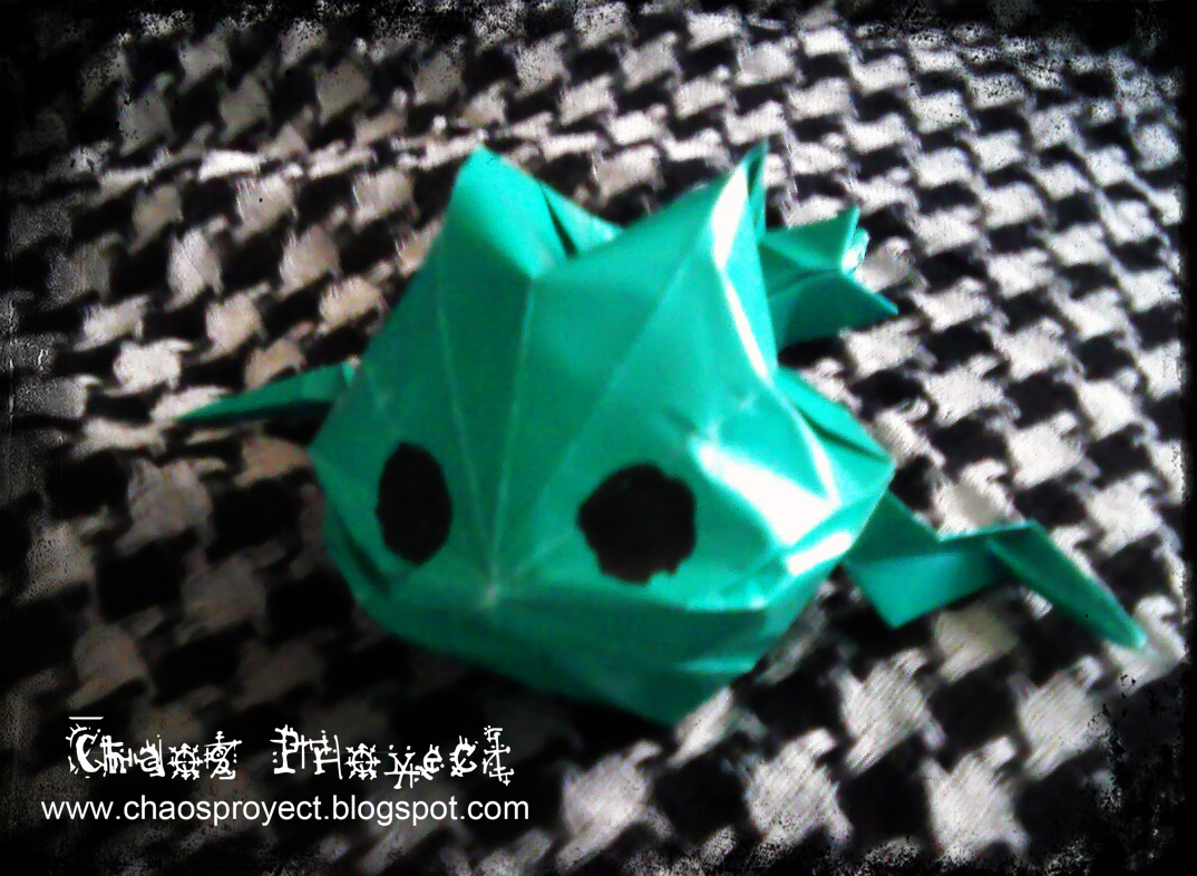Chaos Proyect: Rana Inflable de Origami/Inflatable Origami ... - photo#10