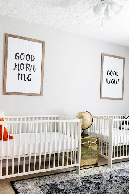 Twin Nursery - Jesse Coulter Blog