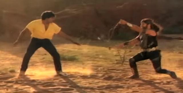 Chiranjeevi fights in Telugu movies