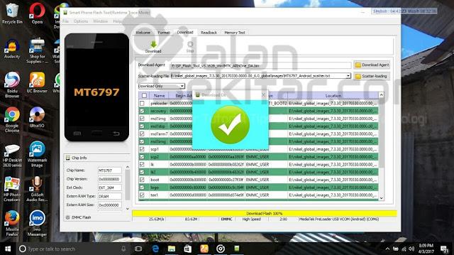 Tutorial Flash Xiaomi Redmi Note 4 MTK dengan SP Flash Tool