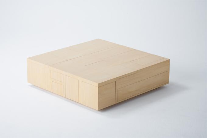 Diseño industrial y mesa de madera