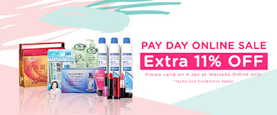 Watsons Malaysia Online Sale Discount Promo