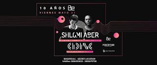 Shlomi Aber, CID INC y más | 10 AÑOS de Bogota Electronica