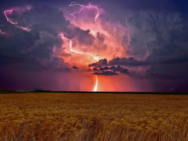Natures power in the Prairies by Kevin Pepper