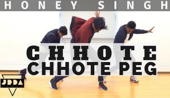 Chhote Chhote Peg | Dance | Honey Singh | Jeya Raveendran Choreography