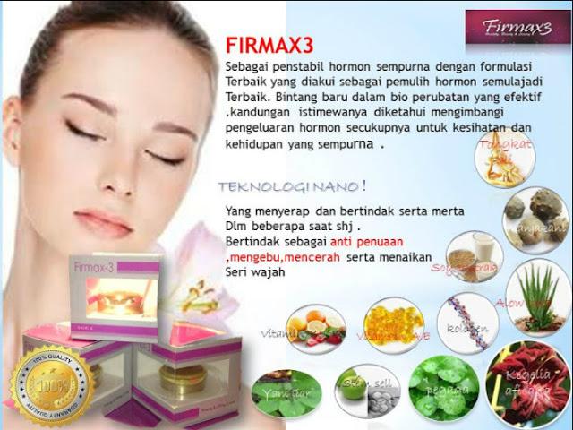 Kandungan dari  Firmax3 Cream, Firmax3 Cream Indonesia
