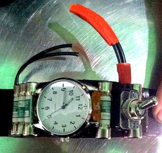 A strange watch resembling an IED component was discovered at Oakland (OAK).