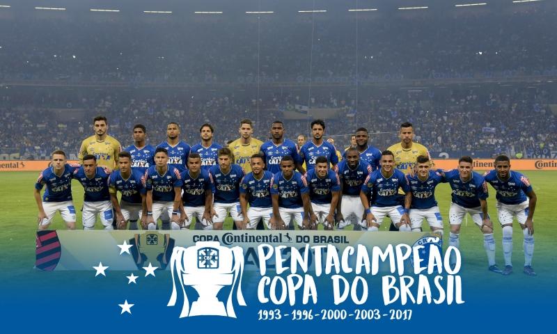 baefa0ffca170 Cruzeiro penta  Todos os capítulos de mais uma página heroica e imortal da  Raposa - A trajetória das cinco estrelas na Copa do Brasil