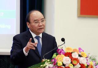 Thủ tướng Nguyễn Xuân Phúc làm việc với ĐH Đà Nẵng