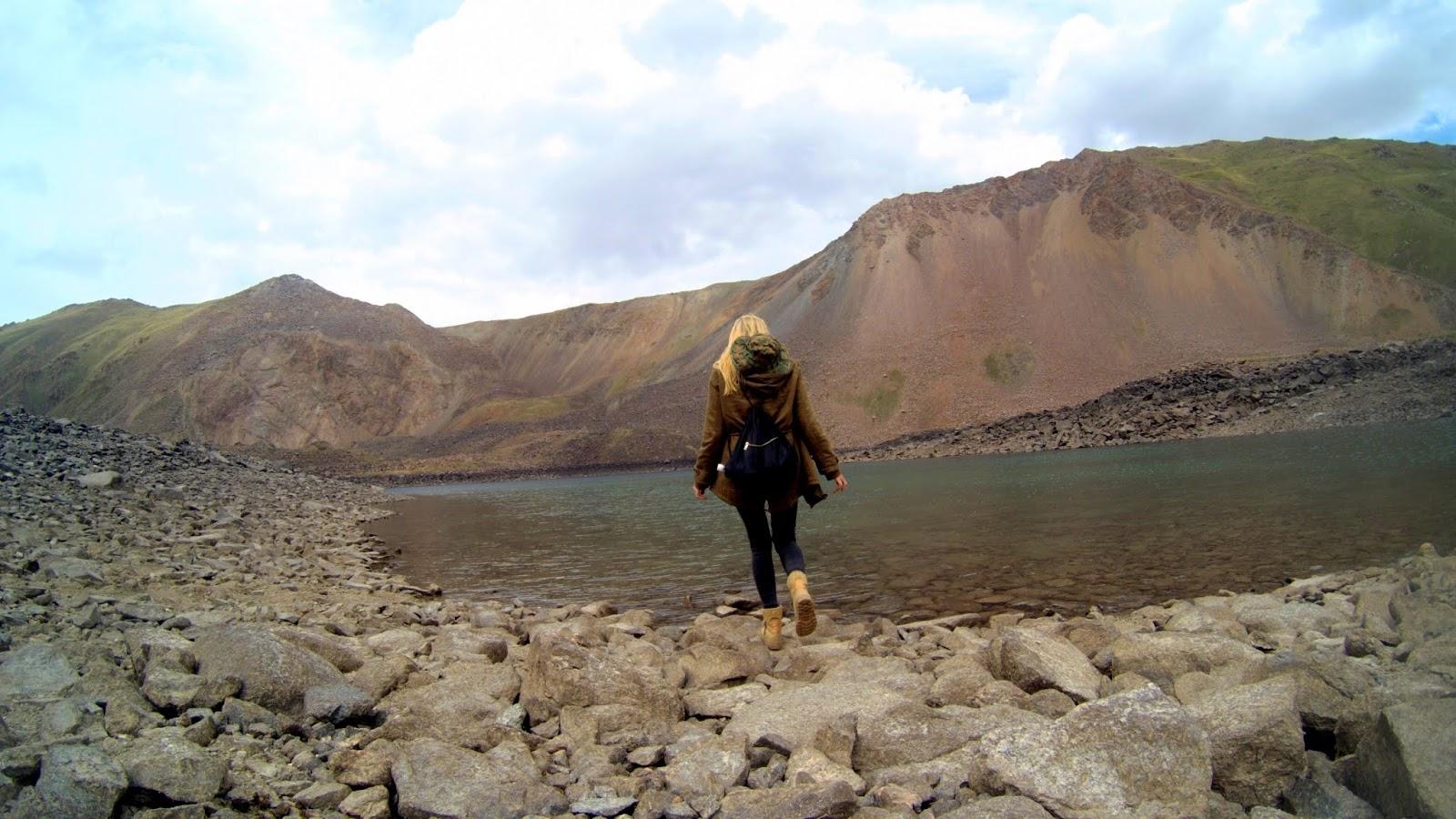jezioro Kol Ukok Aral Kirgistan
