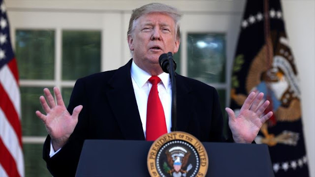 Trump anuncia acuerdo con el Congreso para reabrir el Gobierno