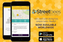 Dapatkan Uang Dengan Aplikasi Streetbees