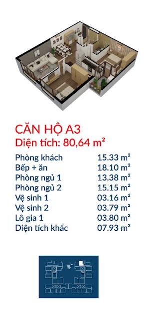 Căn hộ A3 Việt Đức Complex