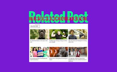 Mengatasi Gambar Related Post Gepeng dan Support HTTPS