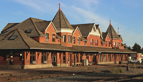 Train Station Medicine Hat Alberta