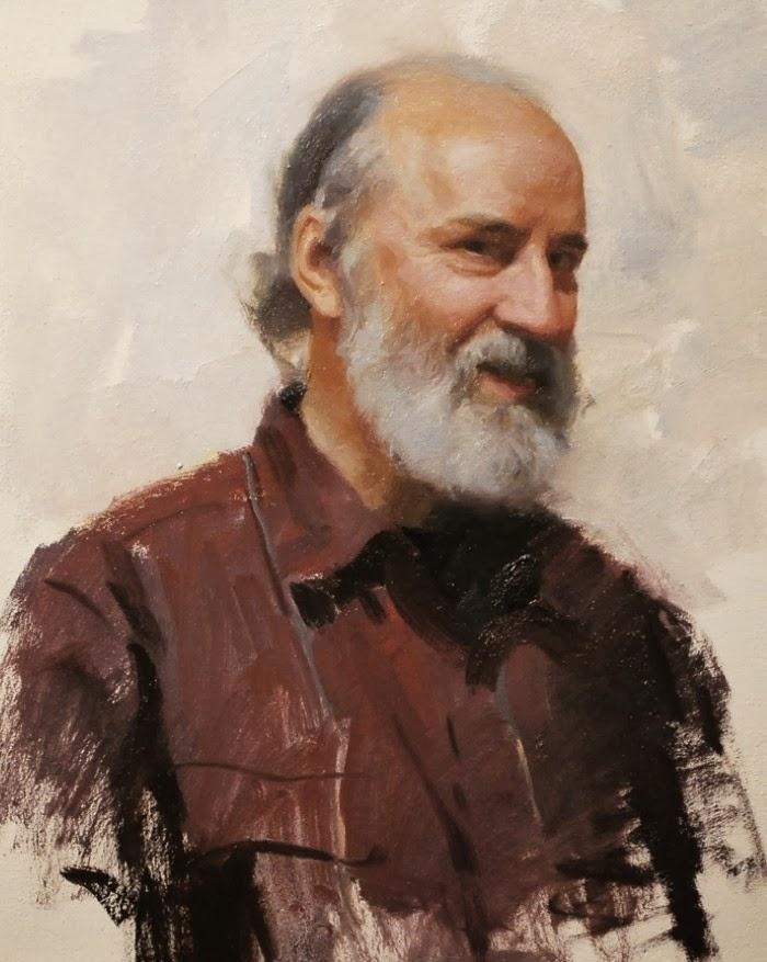 Художник-портретист. Frank Ordaz