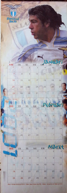 Kalender 2001 Striker Liga Italia