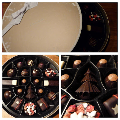Hotel Chocolat festive box