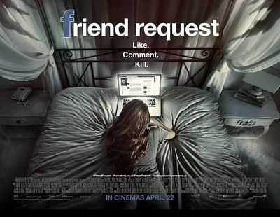 Friend Request 2016 Hind Dubbed Dual Audio Download 300mb BRRip