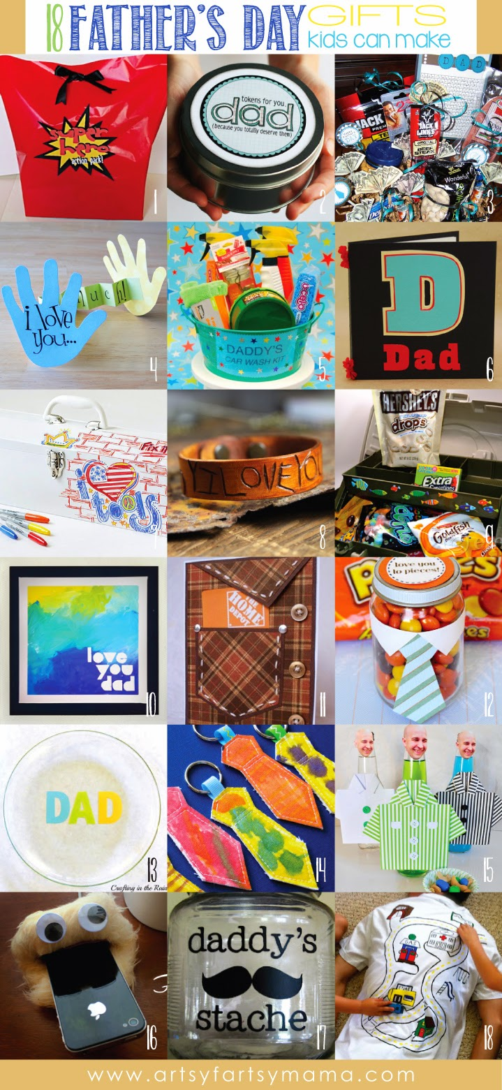 18 Father S Day Gifts Kids Can Make Artsy Fartsy Mama