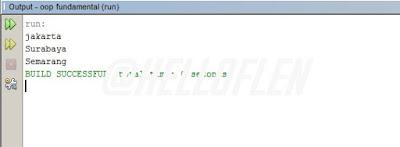 Coding Konsep Kedua Array Pada Java Netbeans