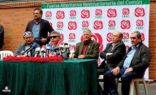 Farc se inscriben como partido político para las elecciones de 2018