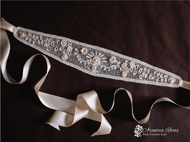 cinturones para novia 2017