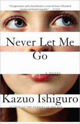 Never Let Me Go by Kazuo Ishiguro - book cover