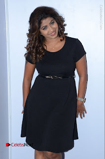 Tollywood Actress Geethanjali Thasya Latest Pos in Black Short Dress at Nanna Nenu Na Boyfriends Audio Launch  0015.JPG