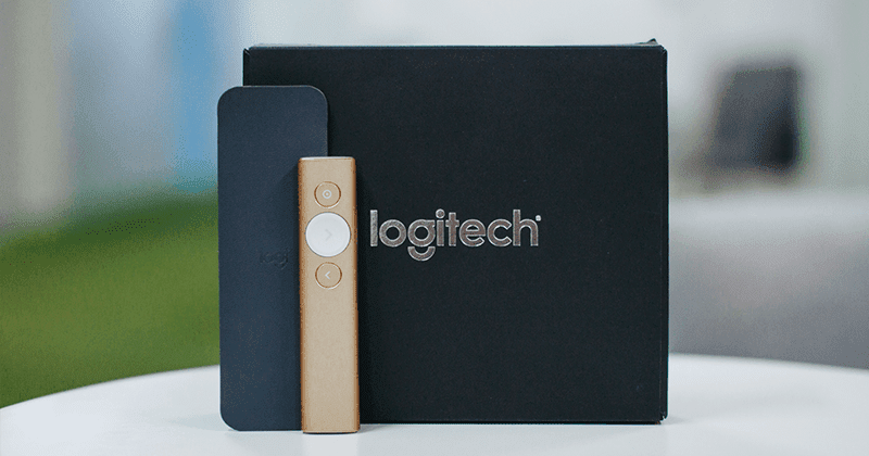 093a6b5bb73 Say hello to a whole new method of doing your presentation with Logitech  Spotlight wireless presenter. Unlike your traditional laser pointer, ...