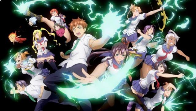 Maken-Ki - Daftar Anime Martial Arts Terbaik dan Terpopuler