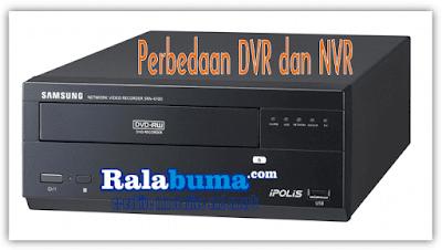 Perbedaan DVR dan NVR Camera CCTV