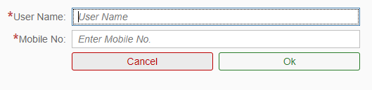 How to reset my password in CFMS website login