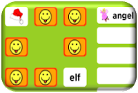 http://www.eslgamesplus.com/christmas-vocabulary-memory-game-for-esl/